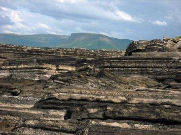 Benbulben from Cloonagh Cliffs